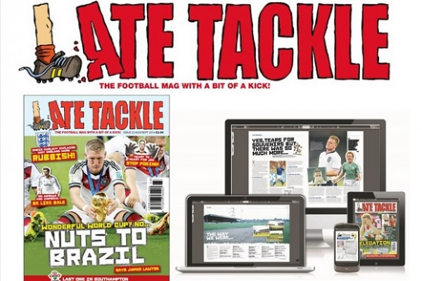 Late Tackle New Issue Out NOW!