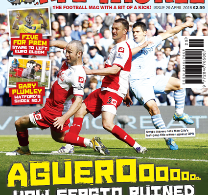April's edition of Late Tackle, on sale NOW!