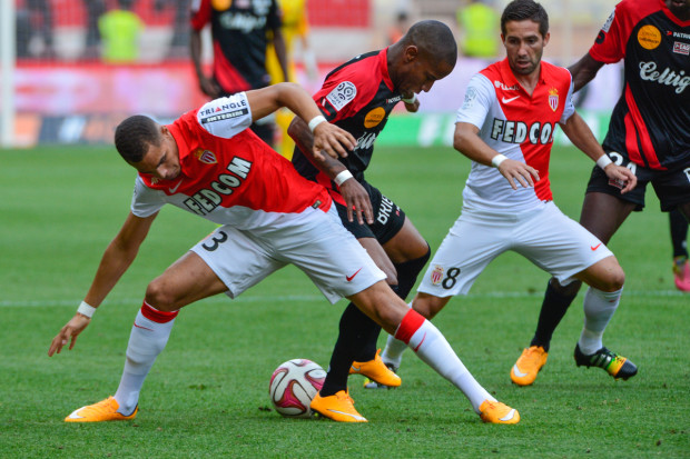 Monaco's Layvin Kurzawa has been the subject of scout reports for both Manchester clubs