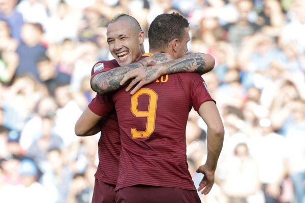 Nainggolan Heaps Praise On Roma Teammate Džeko