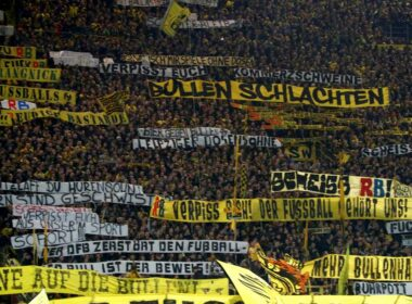 Borussia Dortmund, BPL, Bundesliga, Celtic, Dortmund, EFL, English football, EPL, Safe standing, SkyBet Championship, SkyBet League One, SkyBet League Two, SPL