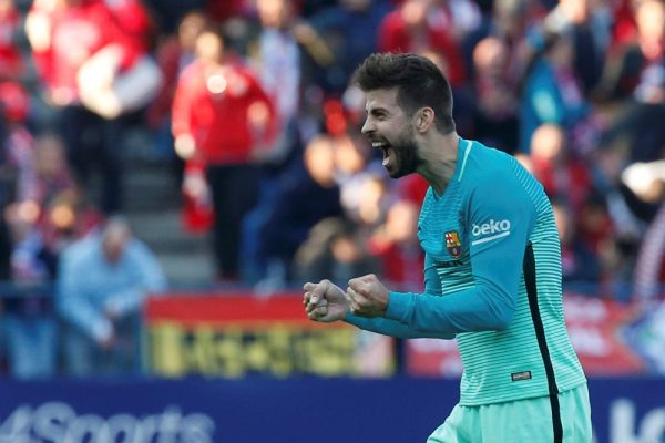 Pique Takes To Twitter To Bemoan Real Luck