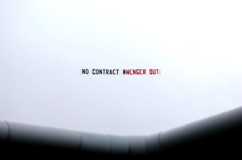 Arsenal Fan Twattery Goes Airborne