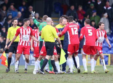 Accrington Stanley, ASFC, EFL, Football League, National League South, Non-League, referees, Trevor Kettle, Whitehawk, Zico