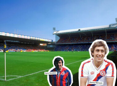 1980s, CPFC, Crystal Palace, Eagles, EPL, First Division, Late Tackle, Palace, PL, Premier League, Selhurst, Selhurst Park, Terry Venables, Venables