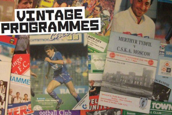 The Wonderful World Of Vintage Programmes