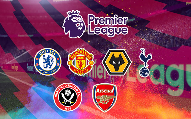 Race for the top four in the Premier league