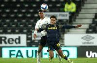 Derby County forward Morgan Whittaker
